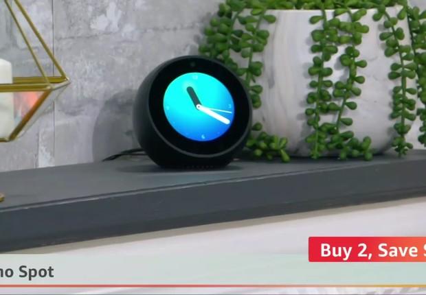 Amazon Live é mais um impulso para as vendas dos produtos de smart home da Amazon, como o Echo Dot (Foto: Reprodução)