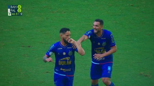 Bahia 1 x 1 Palmeiras: assista aos melhores momentos e gols da partida