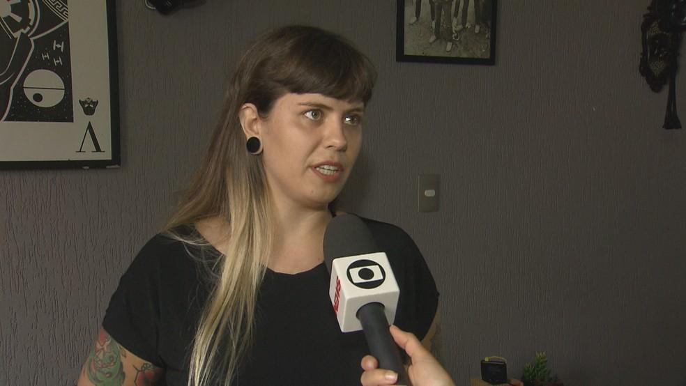 A empresária Mairá Campos  — Foto: Reprodução/TV Globo