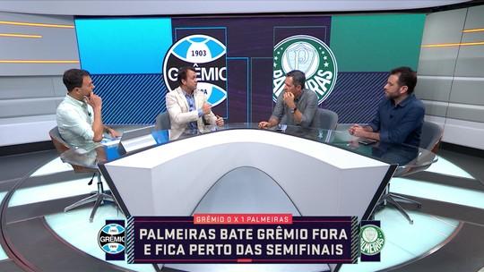 """Comentarista critica estilo de jogo do Palmeiras e diz: """"O Grêmio não foi Grêmio"""""""