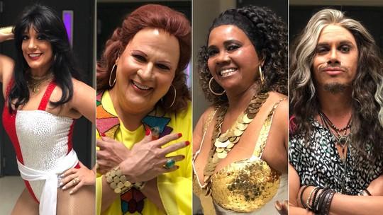 'Show dos Famosos': veja como foram os ensaios do Grupo 2 para a oitava rodada