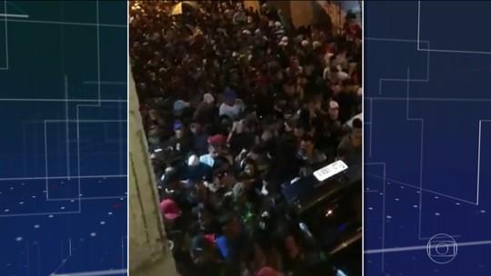 Três pessoas morrem pisoteadas em baile funk em Guarulhos/SP