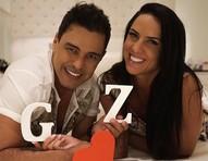 Graciele Lacerda conta que novo triplex já tem quartinho de bebê
