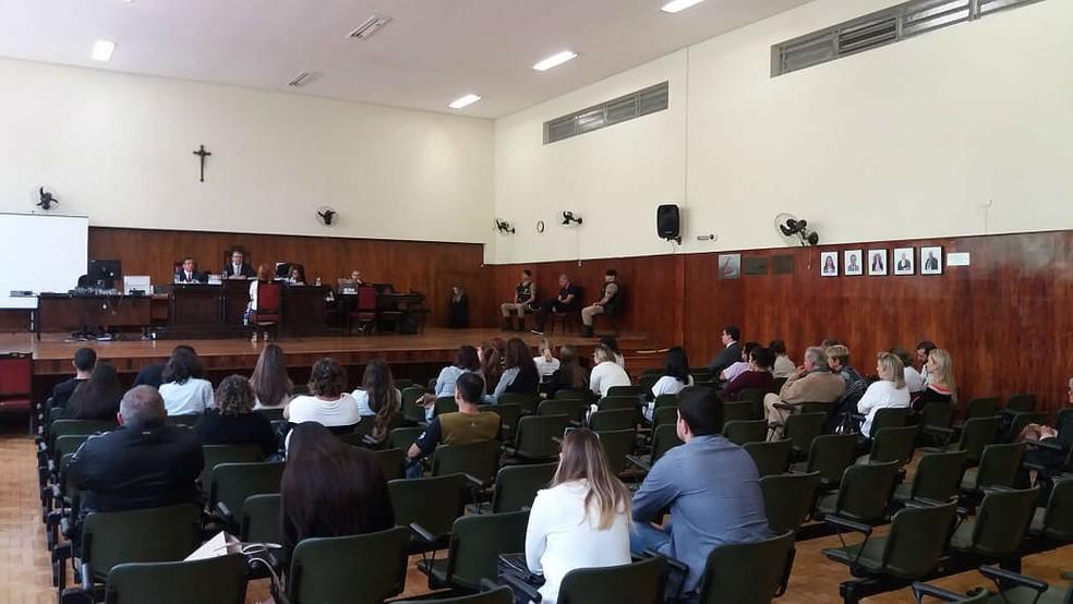 Marcos André Cavanellas foi condenado a 22 anos de reclusão pela morte da ex-esposa em Juiz de Fora (Foto: Vagner Tolendato/G1)