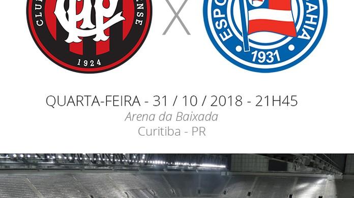 Atlético-PR x Bahia  tudo o que você precisa saber sobre as quartas de  final da Sul-Americana  24c08892eaff2