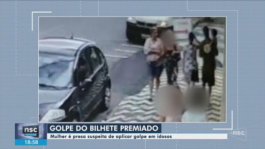 Mulher é presa em SC suspeita de fazer parte de quadrilha que aplica golpes em idosos