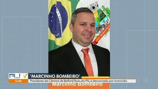 'Marcinho Bombeiro', do PSL, é denunciado à justiça como mandante de homicídios