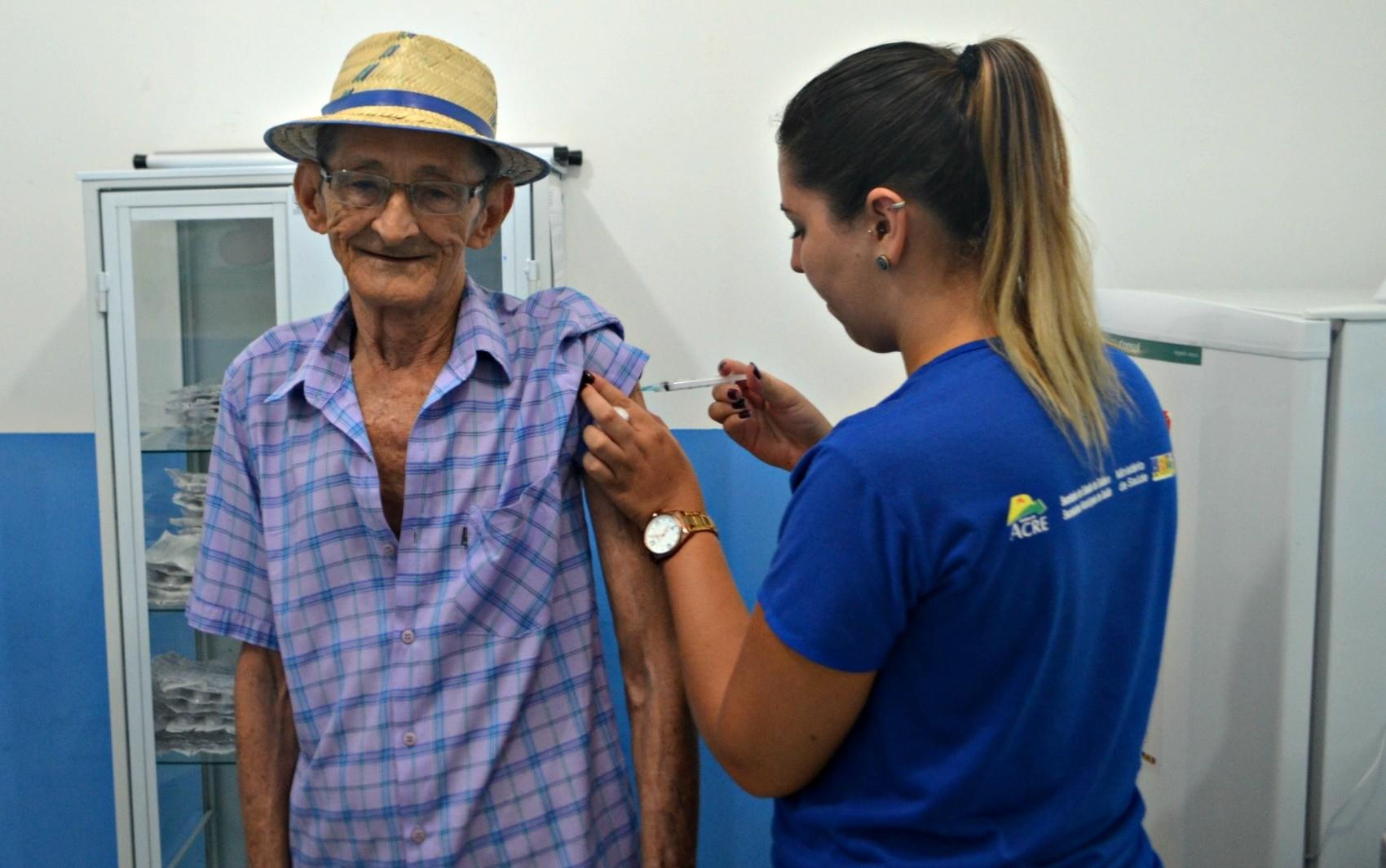 Campanha contra influenza deve imunizar mais de 20 mil pessoas em Cruzeiro do Sul