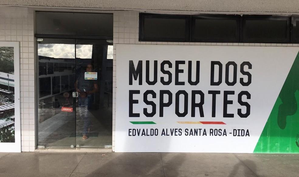 Museu dos Esportes tem o nome de Dida e foi inaugurado em 1993 — Foto: João Alvim/GloboEsporte.com
