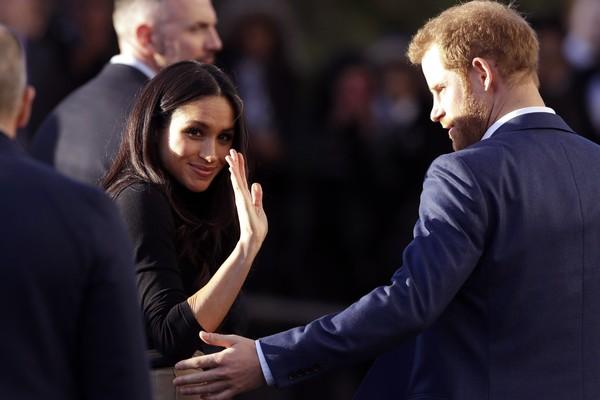 O Príncipe Harry e a atriz e duquesa Meghan Markle  (Foto: Getty Images)
