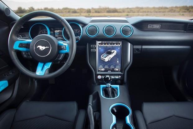 Ford Mustang elétrico  (Foto: Divulgação )