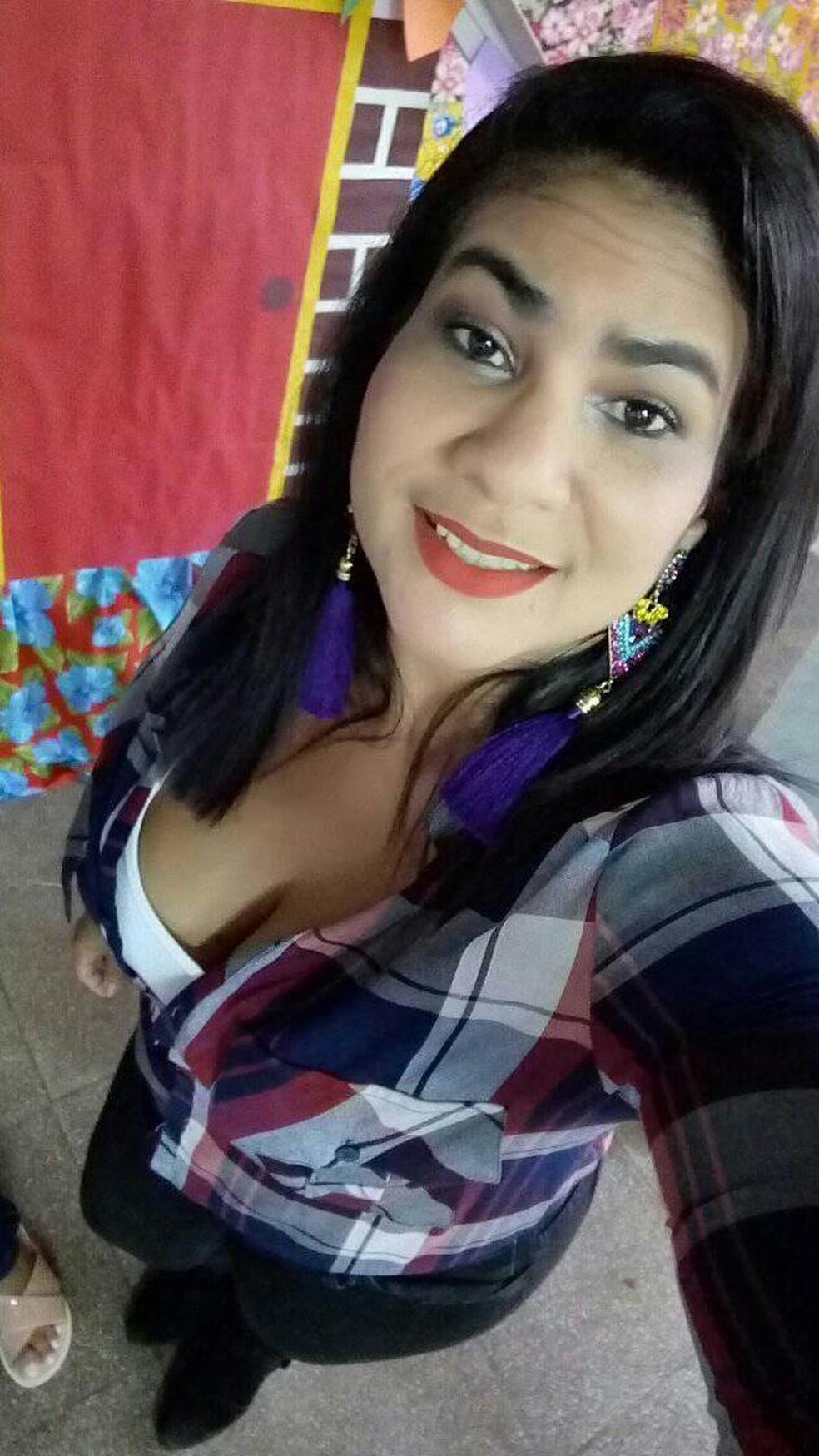 Elisiane foi encontrada morta após 4 dias desaparecida — Foto: Redes sociais