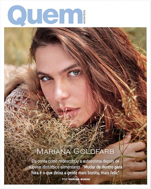 Mariana Goldfarb é a Capa da Semana na QUEM (Foto: Tavinho Costa)