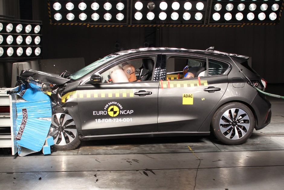 Ford Focus no EuroNcap (Foto: Divulgação)