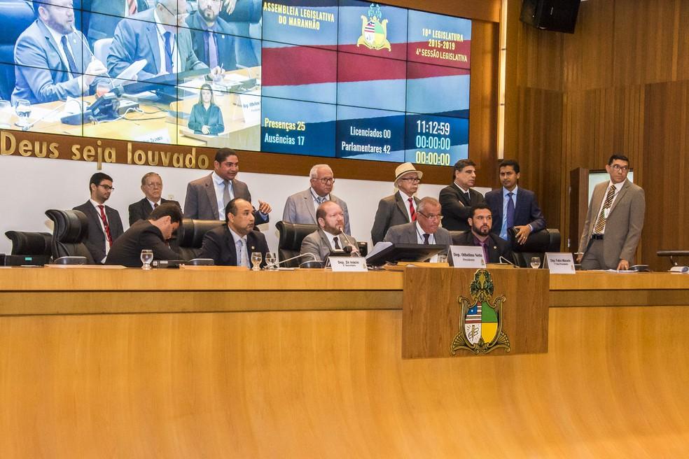Plenário da Assembleia Legislativa do Maranhão (Alema). (Foto: JR Lisboa/Agência AL)