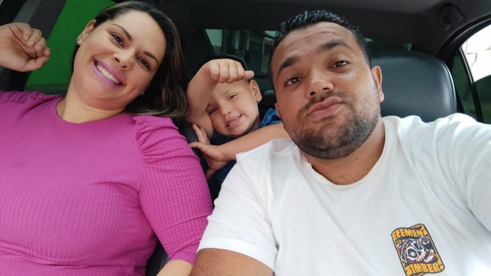 Rafael foi o primeiro filho do casal de Bauru, Nelson e Raquel — Foto: Arquivo Pessoal