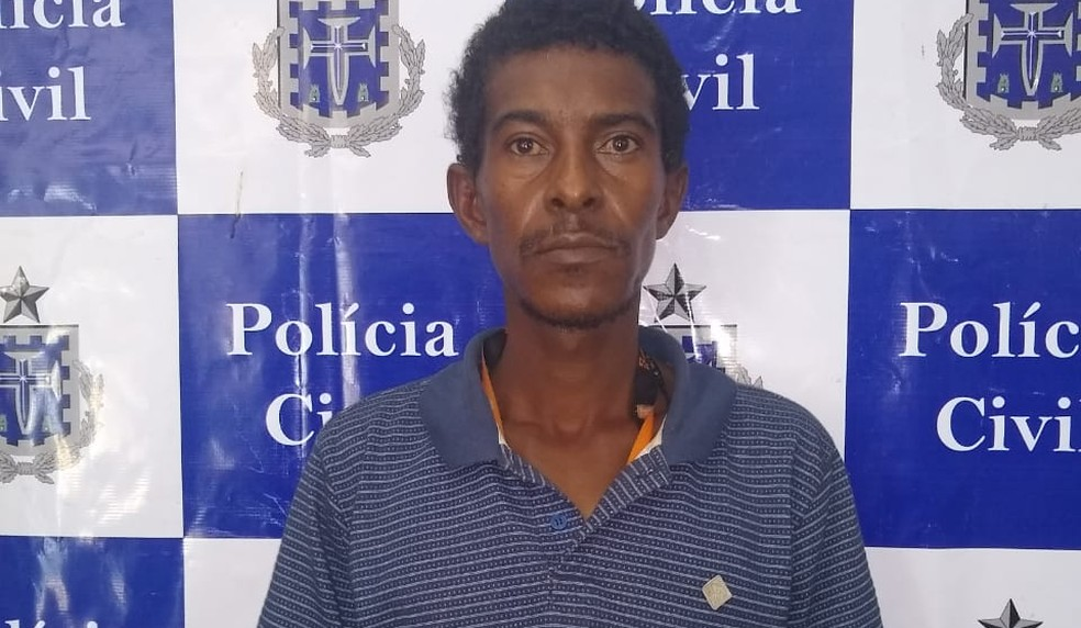 Homem é preso suspeito de matar mulher em praia de Ilhéus — Foto: Divulgação/Polícia Civil de Ilhéus