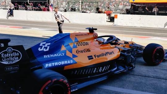 Foto: (Reprodução/Twitter/McLaren)