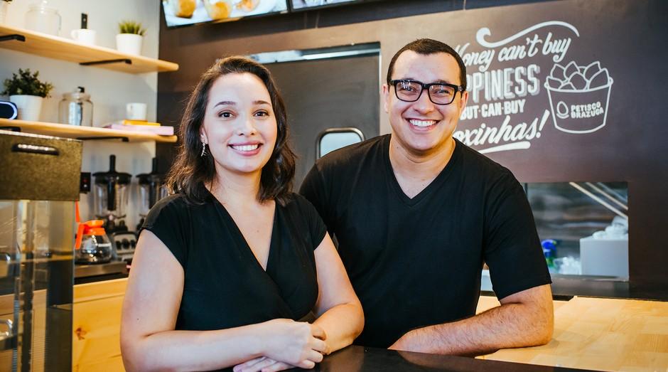 Ricardo Rosa e Vanessa Oliveira, da Petisco Brazuca (Foto: Divulgação)