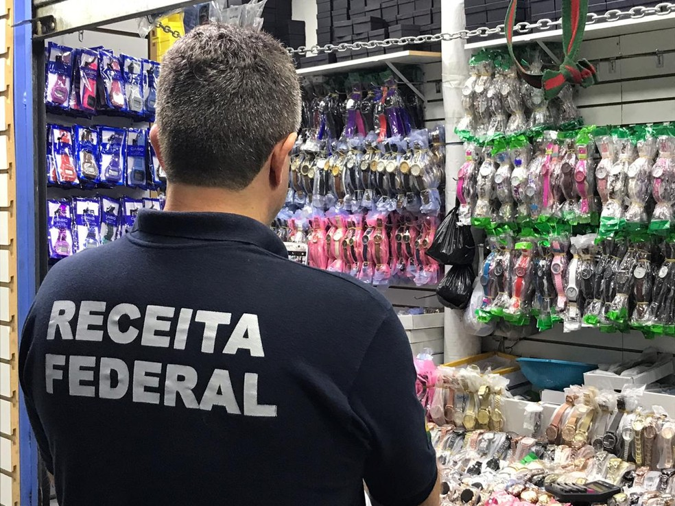 Operação Chronos da Receita Federal apreendeu R$ 50 milhões em relógios falsificados — Foto: Receita Federal/Divulgação
