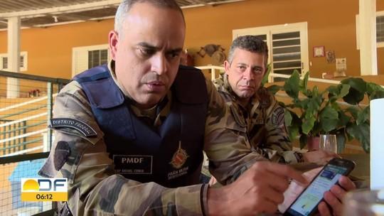 PMDF cria grupos de celular para conter violência em área rural