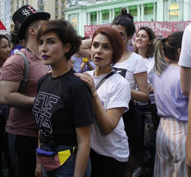 Fernanda Paes Leme e Françoise Fourton (Foto: Wallace Barbosa/Agnews)