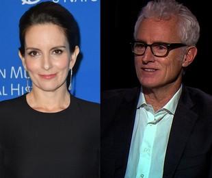 Tina Fey e John Slattery | AFP / Divulgação