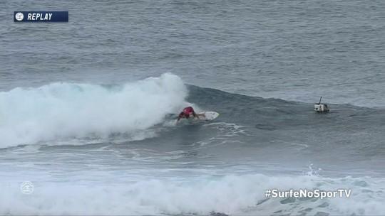Com maré baixa, Mineirinho vence na estreia e avança direto ao round 3 no Taiti
