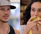 José Loreto escolhe a cena em que Darkson se apaixona por Tessália, personagem de sua ex-mulher | Reprodução/TV Globo