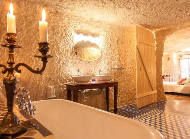 Casa Caverna, Centre, França (Foto: Airbnb/Reprodução)