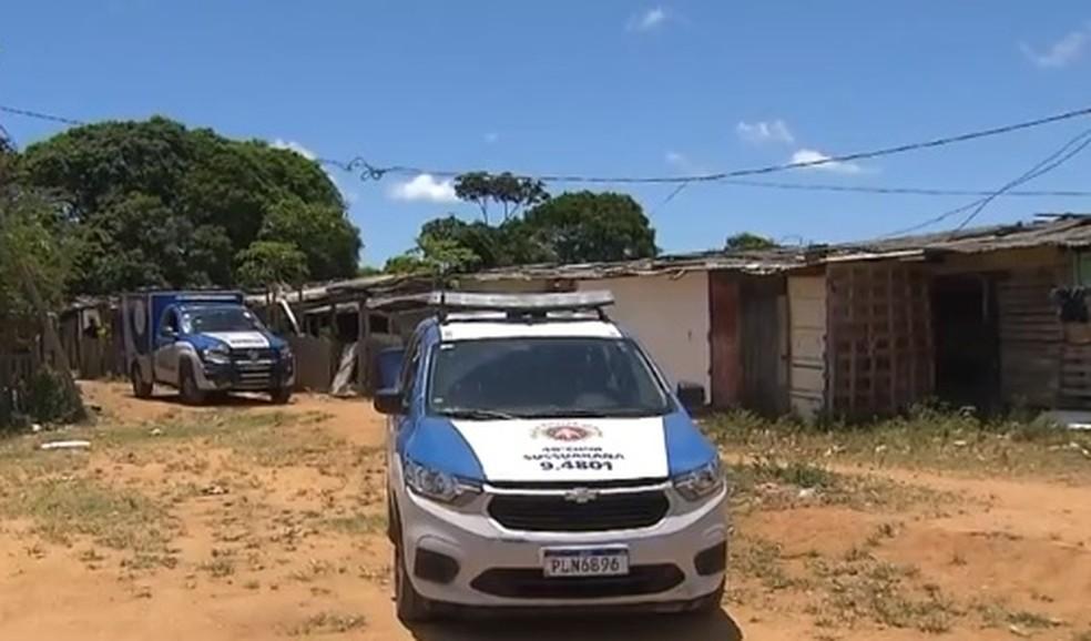 Crime aconteceu no bairro de Santo Inácio, em Salvador — Foto: Reprodução/ TV Bahia