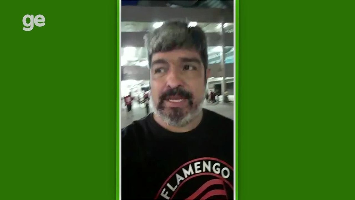 Torcedor do Flamengo com camisa antifascista precisou de autorização da PM para entrar no Maracanã