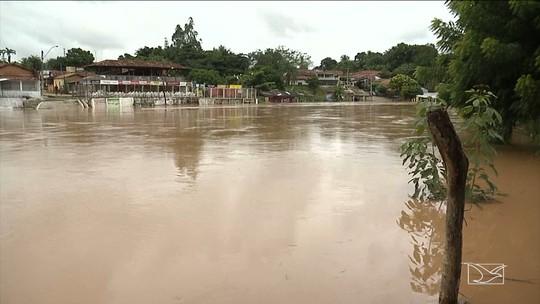 Balsas está em situação de alerta por conta de enchentes dos rios