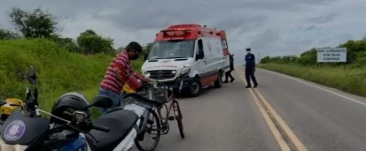 Romeiro é atropelado por caminhão em rodovia do Ceará após percorrer cidades para pagar promessa por voltar a andar