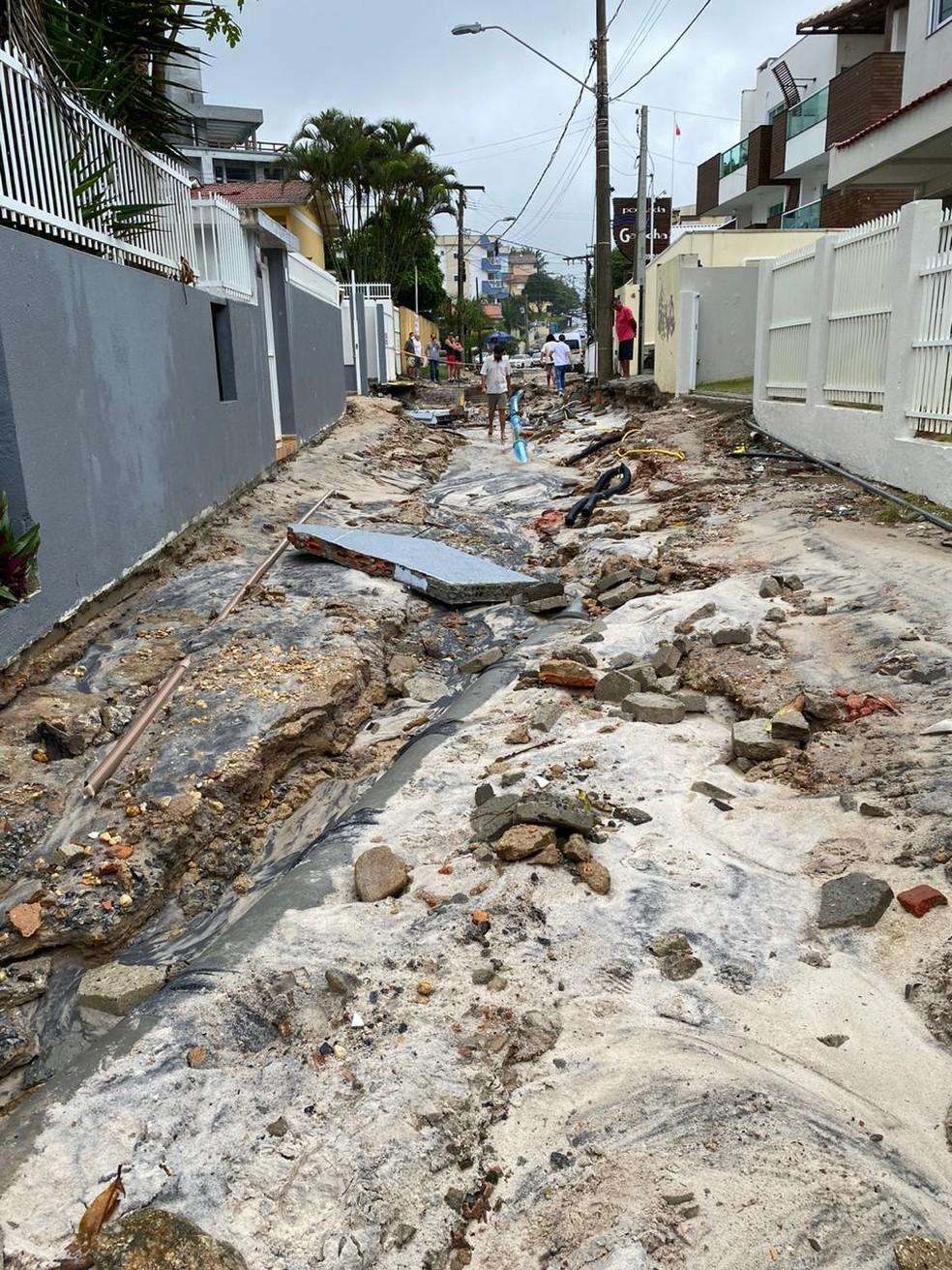 Município de Bombinhas, Litoral Norte de SC, deve decretar situação de emergência — Foto: Divulgação/Prefeitura de Bombinhas