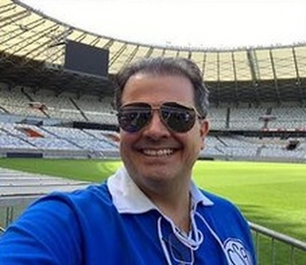 Marcelo Brabo, pré-candidato à presidência do CSA — Foto: Arquivo pessoal/Marcelo Brabo
