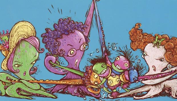 Ilustrações de Laurent Cardon, Editora Biruta, R$ 44. A partir de 2 anos. (Foto: Reprodução)