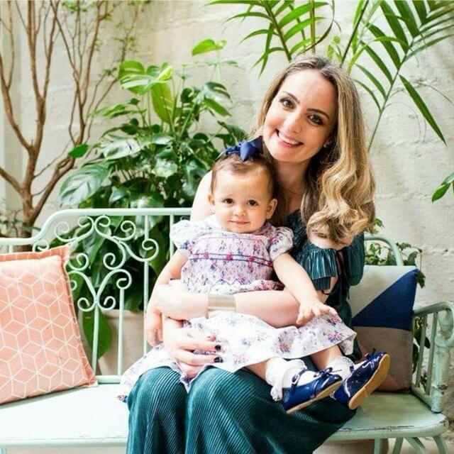 Veridiana e a filha Antonella (Foto: Arquivo Pessoal)