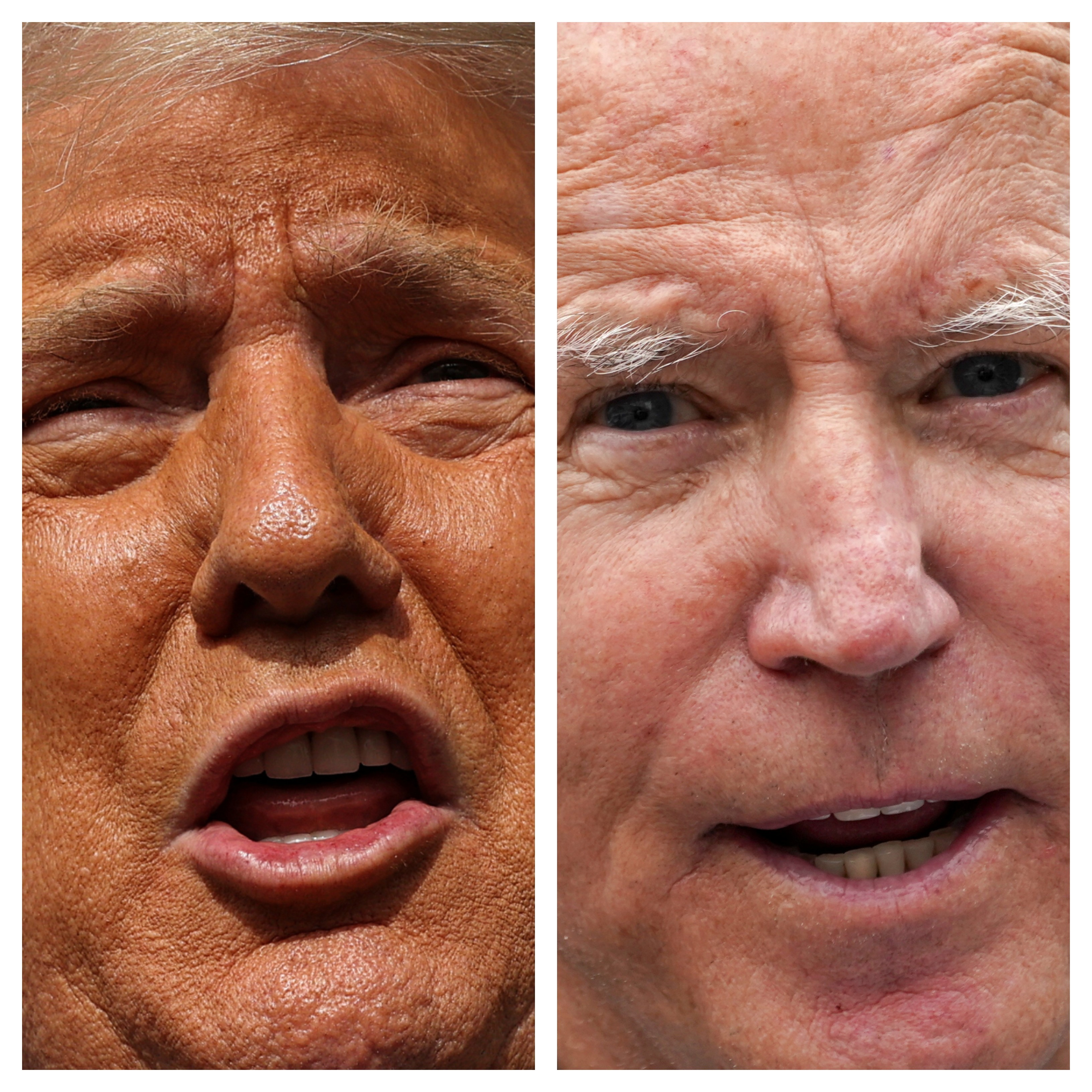 Em arrancada final, Biden visita a Geórgia, e Trump faz campanha em três estados