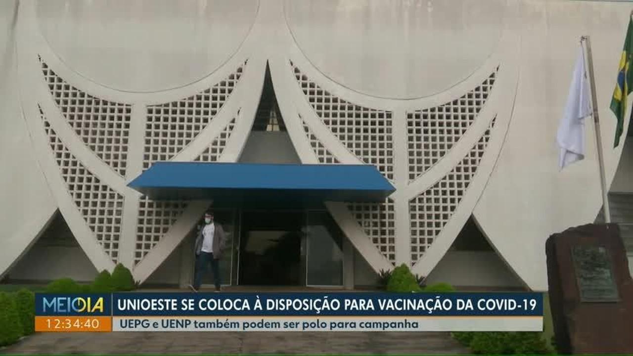 Unioeste se coloca à disposição para vacinação contra a covid-19