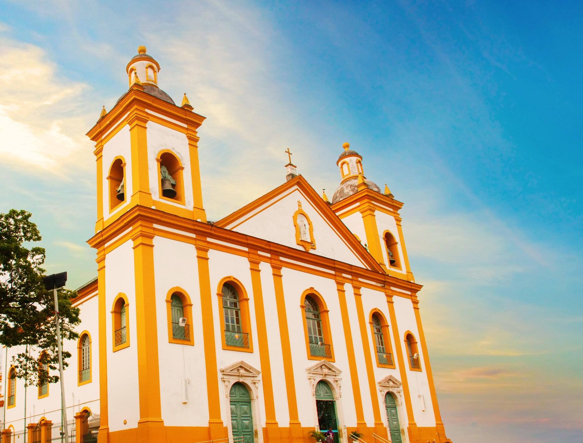Com a Igreja Matriz, centro histórico reúne arte, cultura e fé em Manaus  - Notícias - Plantão Diário