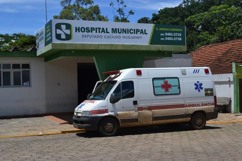 Hospital Municipal de Alto Araguaia — Foto: Marcos Cardial | Assecom