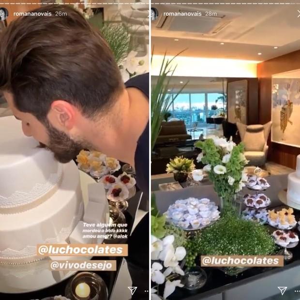 Resultado de imagem para Romana Novais mostra detalhes do chá celebração