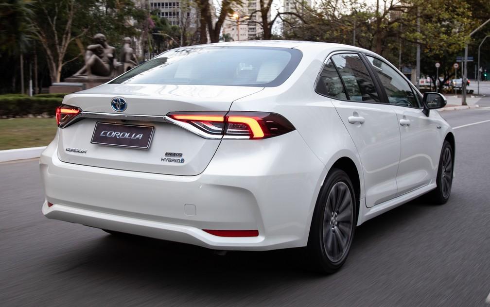 Toyota Corolla 2020, a nova geração — Foto: Divulgação/Toyota