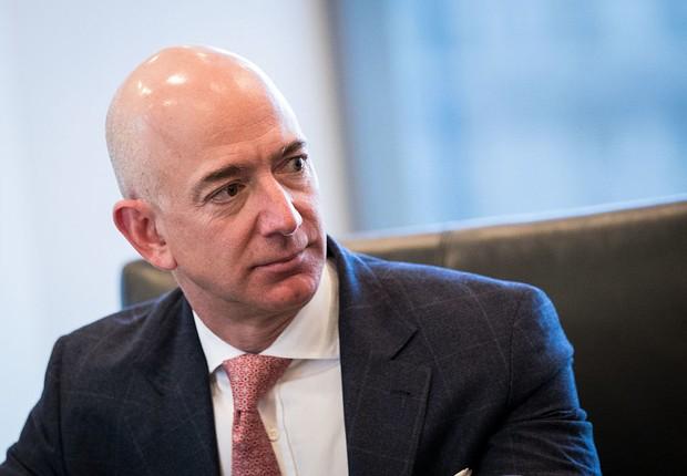 Jeff Bezos, bilionário fundador da Amazon (Foto: Drew Angerer/Getty Images)