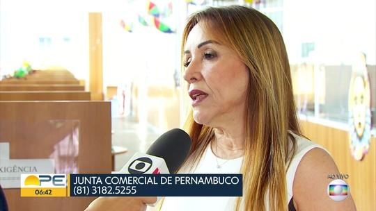 Mais de 12 mil empresas correm o risco de ter o registro cancelado em Pernambuco
