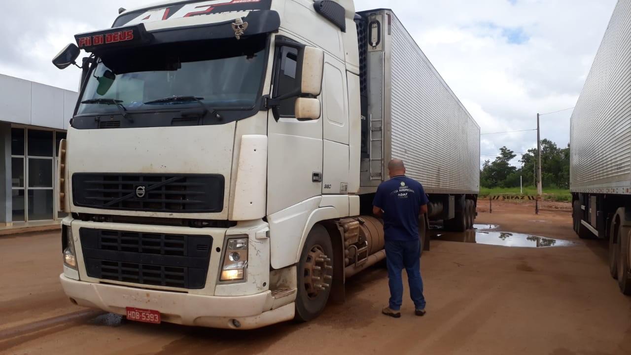 Adaf intensifica fiscalização de trânsito agropecuário em Humaitá, no interior do AM