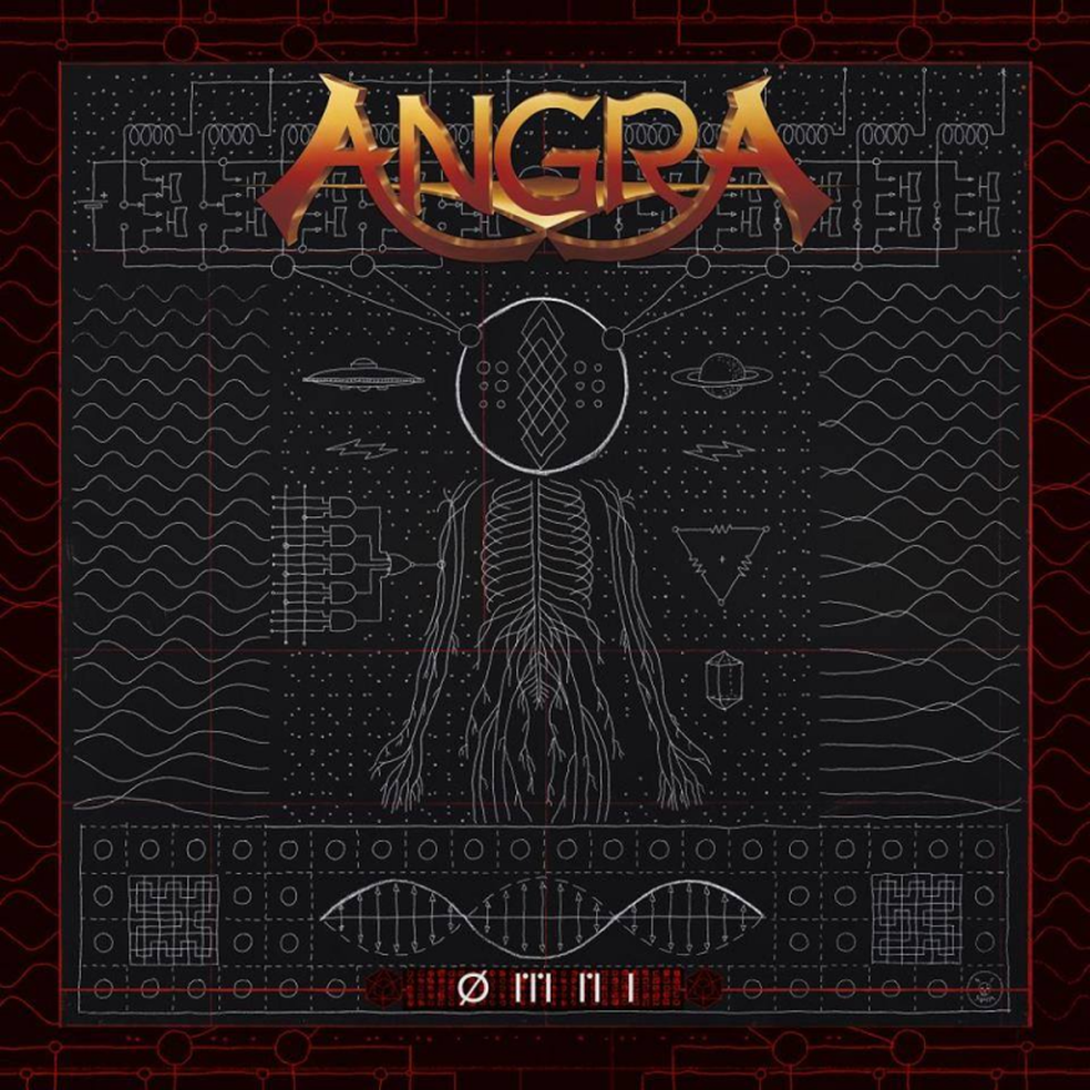 Capa do álbum 'ØMNI', do grupo Angra (Foto: Divulgação)