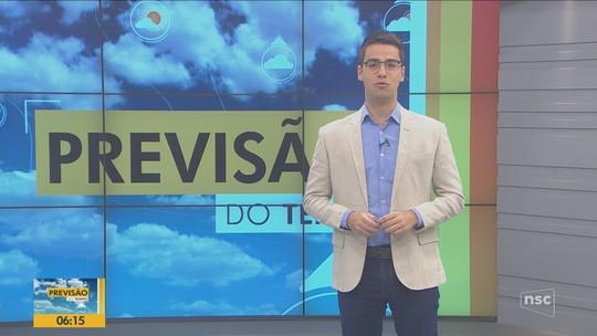 Quinta-feira tem presença de sol na maior parte de Santa Catarina