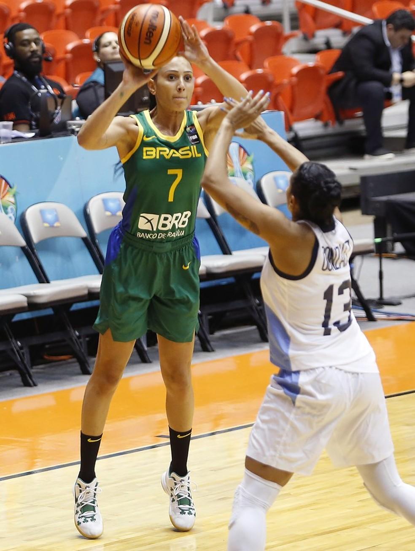 Patty foi outro destaque do Brasil  — Foto: Divulgação